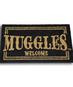 Felpudo Harry Potter Muggles Welcome