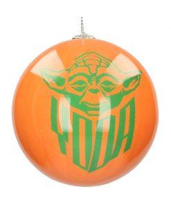 Bola Navidad Star Wars Yoda y Lobo