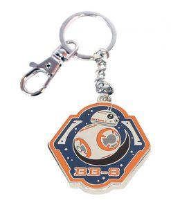 Llavero metal Star Wars BB-8 Borde Naranja EP7