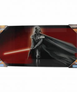Póster de Vidrio Darth Vader Star Wars Ep VIII