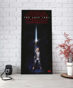 Póster de Vidrio Rey Sable Star Wars Ep VIII