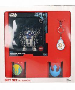 Rebeldes Star Wars Set Regalo (Libreta-Vasos-Llavero)