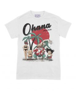 Camiseta Goku Ohana Means Family