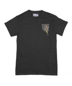 Camiseta Zelda BOTW Bolsillo negra