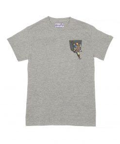 Camiseta Zelda BOTW Bolsillo grey