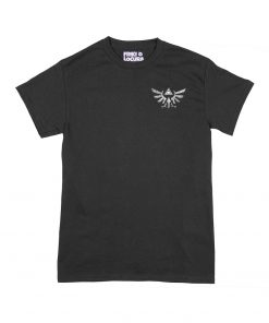 Camiseta Zelda Trifuerza Escudo Hyliano delantero
