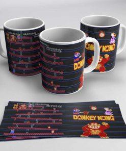 Taza Donkey Kong 003