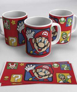 Taza Mario Super Mario