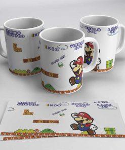 Taza Super Mario Paper