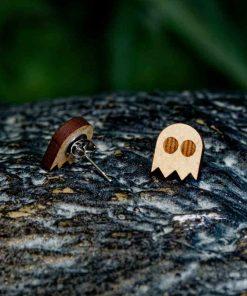 Pendientes Pac-Man Fantasma