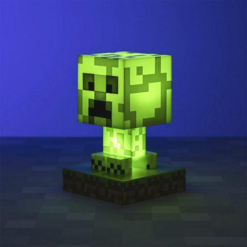 Lámpara Minecraft Creeper Icon Light