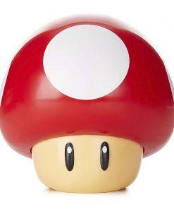 Super Mario Lámpara con sonido Mushroom